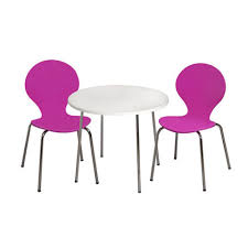 table and chairs for kids. fuschia kids\u0027 table and chairs set for kids u