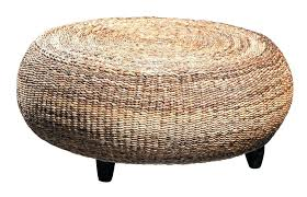 wicker coffee table ottoman neat of with banana leaf beautiful as glass tables