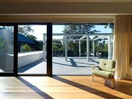 decoration stunning oversized sliding glass doors with large patio door window treatments cost