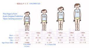 Pinknelie Japanese U S Children Size Chart