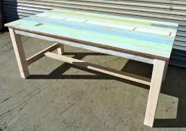 railcar wood beachy furniture