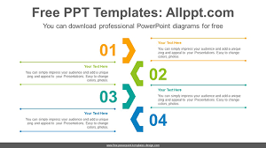 Powerpoint Chevron Template Central Chevron Point Powerpoint Diagram Template