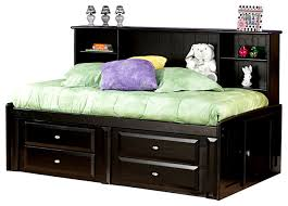 kids twin beds with storage. Chelsea Home Twin Bed With Bookcase And Storage In Black Kids Beds I