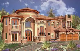 Single Story Mediterranean House Plans One Dream Luxury Home Designs ...