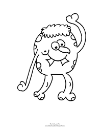 Coloring Page Monster Free Drawingboardweekly Monster Coloring