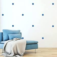 polka dot stickers by color dark blue circle wall decals black gold australia on l and