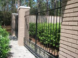 wrought iron fence brick. Full Image For Excellent Wrought Iron Fence Designs 12 Brick Amazing