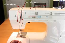 Threading Up A Sewing Machine