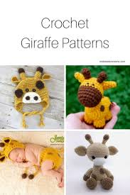 Crochet Giraffe Pattern Delectable 48 Darling Crochet Giraffe Patterns