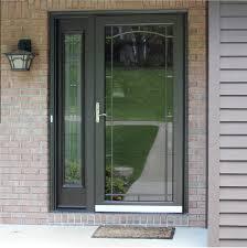 Front Doors With Storm Door Options Fiberglass Steel Entry On Beautiful Ideas