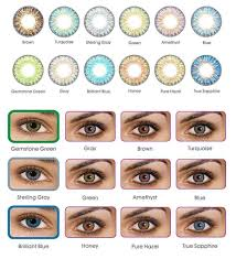 Freshlook Color Chart For Dark Eyes Freshlook Colorblends Cosmetic Colored Contacts 12 Colors Fast Free Shipping