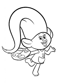Trolls coloring pages are printable images related to one of the best musical comedy animated film for children of recent years. Trolls Coloring Pages For Kids 101 Coloring