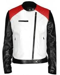 White Designer Jackets for Men & Women – Faechan & All men look good in racing jackets, and this moto racer men's crops quilted  leather biker jacket is no exception. Adamdwight.com