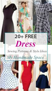 Patterns For Dresses Beauteous Free Dress Sewing Patterns Holaklonecco