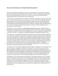 interpretation essay explication essay on sonnetinterpretation simultaneous interpretation linkedinessay simultaneous interpretation equipment essay simultaneous interpretation equipment
