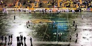 Southern Miss Football Field Is Broken