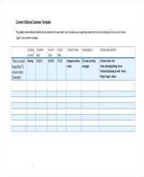 Newspaper Editorial Template Editorial Template How To Create A Blog Calendar For Your