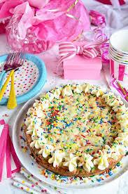 sugar cookie cake full of sprinkles