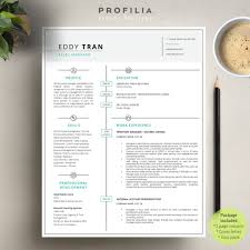Modern Resume Cover Letter Template Editable Word Format 6