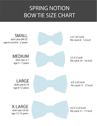 Bow Size Chart Resultado De Imagen Para Bow Tie Size Chart Tie Sizes