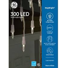 Ge 100 Count Cool White Led Christmas Icicle Lights My Ebay Active Listings Icicle Christmas Lights Led