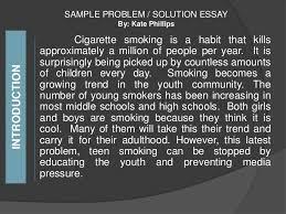 problem solution essay  <br > 11