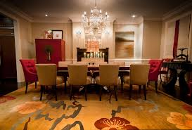 japanese red and gold dining room chinese feng shui dining