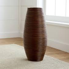 galang floor vase umbrella stand aluminum crate barrel