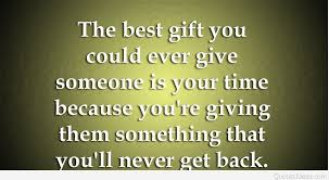 give time to others quote