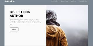 Book Author Website Design 10 Best Wordpress Themes For Book Authors 2019 Egrappler