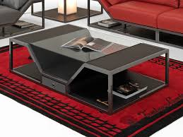 carbon leather coffee table long beach modern coffee table by tonino lamborghini casa