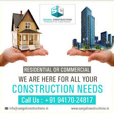 Building Constructions Company Sangal Constructions Do Not Just Build Homes And Buildings