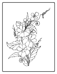Small Picture Fancy Flowers Colouring Pages Coloring Pages Of Flowers In Flowers