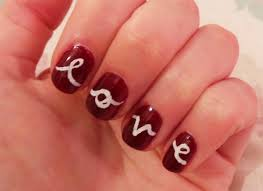 Nail art valentines day design - how you can do it at home ...