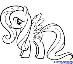 Small Picture my little pony coloring pages fluttershy my little pony coloring