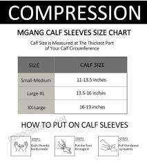 Legacy Graduated Compression Socks Size Chart Calf Compression Sleeve 1 Pair Leg Compression Socks