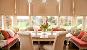 Turn a sunroom into a cozy breakfast nook