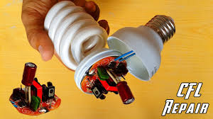 How To Change A Broken Light Bulb Safely How To Repair Cfl Bulb At Home Repair Compact Fluorescent Light Bulbs Diy Cfl Repair