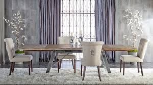 Luxe Dining Chair Almond Setting 2