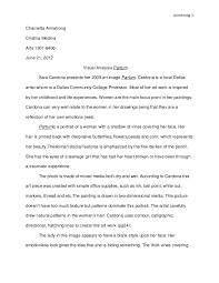 Analysis Example Essay Under Fontanacountryinn Com