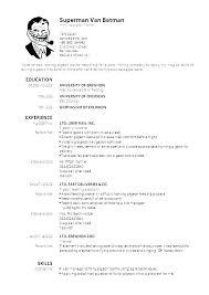 Curriculum Vitae Resume Samples Free Curriculum Vitae Resume