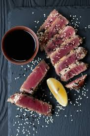 Sesame Crusted Ahi Tuna Steak Recipe