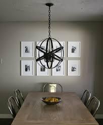 andrea lauren west diy designer black orb chandelier best ideas of diy dining room chandelier