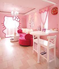 Hello Kitty Bedroom With Pink Color