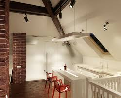 Sloped Ceiling Living Room Cool 13 Kitchen With Slanted Ceiling On Sloped Ceiling Lighting