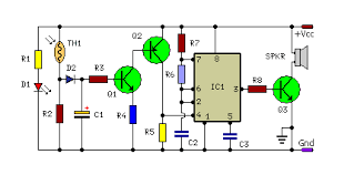 alarm circuit diagram the wiring diagram fire alarm using thermistor eeweb community circuit diagram