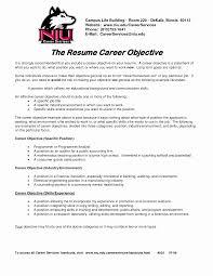 Career Change Resume Objective Career Change Resume Objective Statement Examples Elegant 23