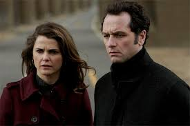 you ll never fill the void that mad men left but these shows the americans stars kerri russell and matthew rhys as soviet kgb spies posing as an all