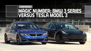 Bmw 3 Series Vs Tesla Model 3 Comparison Its A Magic Number