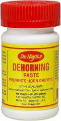 Dr. Naylors DeHorning Paste. | All Veterinary Supply